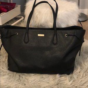 Large, Black Kate spade purse